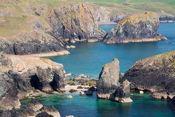Kynance Cove Caves