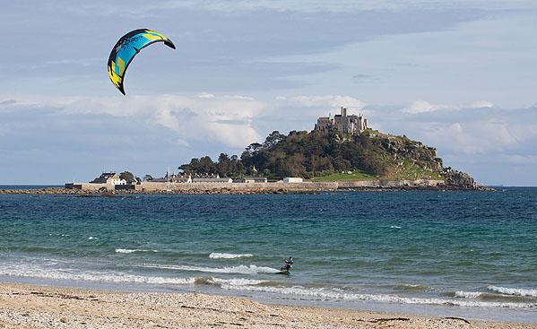 Kite Surfer / St Michael's Mount
