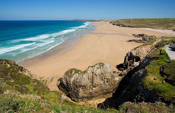 Perran Beach / Perran Sands