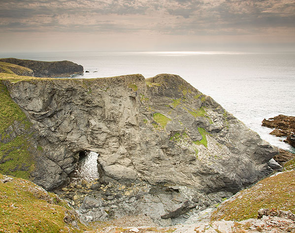 Natural Arch - Lower Butter Cove