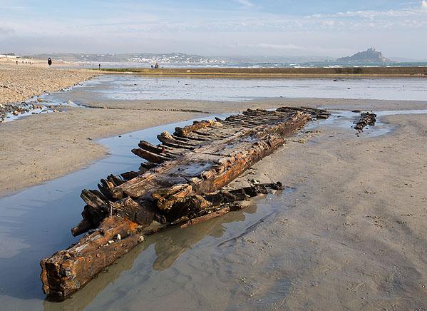 Shipwreck - Barnet / SV Jeune Hortense - Mounts Bay