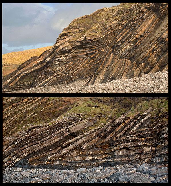 Angular Recumbent Folds - Tremoutha Haven (S3)