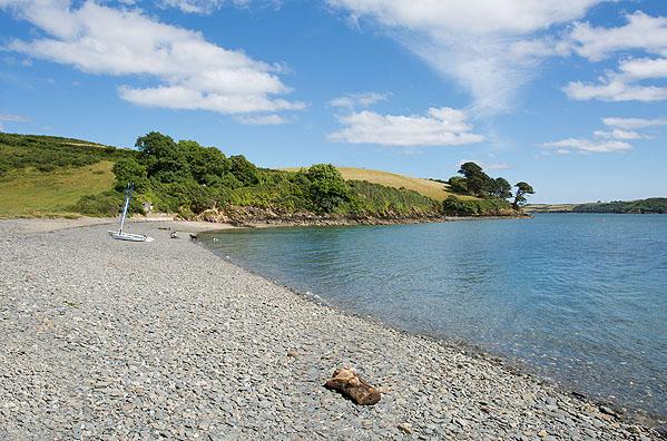 Porth Saxon Beach - 1