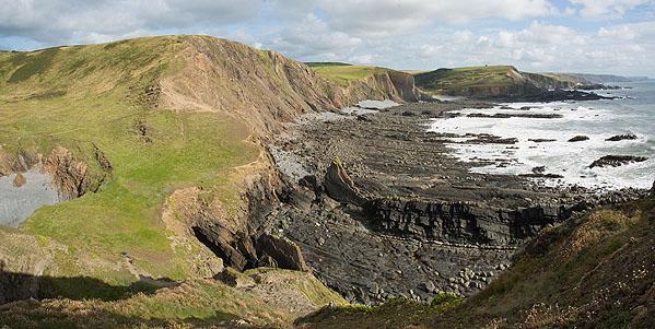Blegberry Cliff
