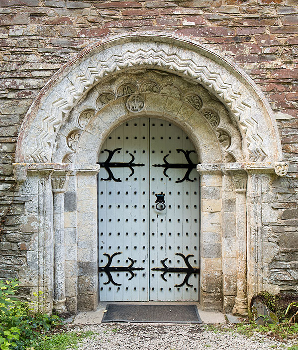 St Anthony Church - Norman South Door