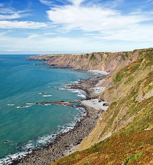 Sandhole Cliffs