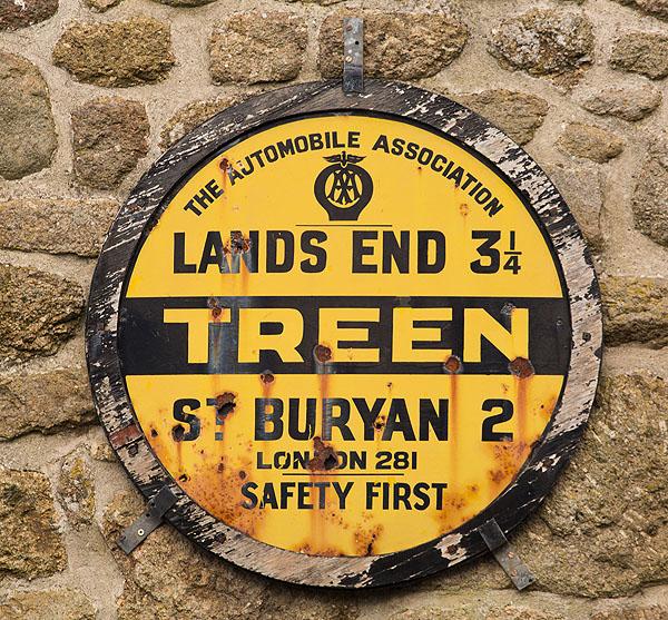 AA Village Sign - Treen