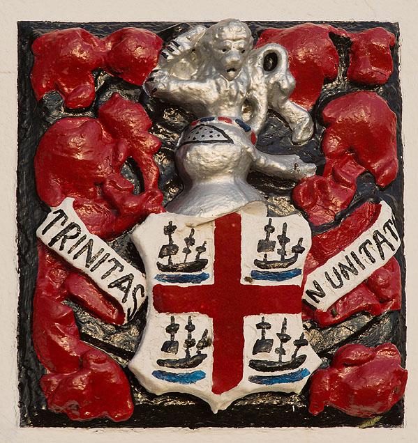 Lizard Lighthouse - Trinity House Coat of Arms