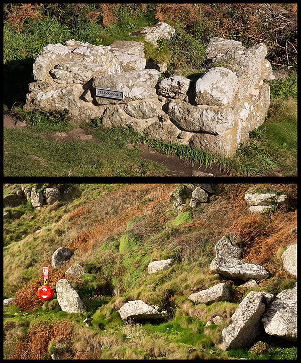 St Levans Chapel / Well