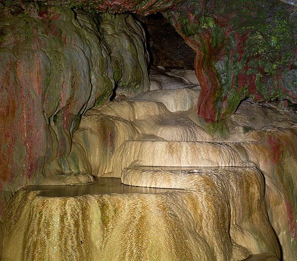 St. Cuthbert's Well / Flowstone