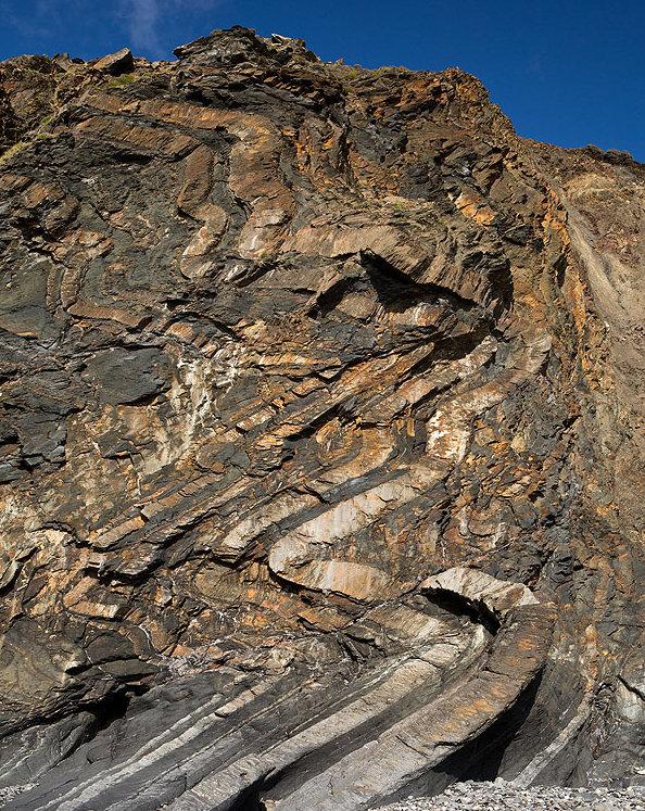 Chevron Folds  - Alder Strand (S3)
