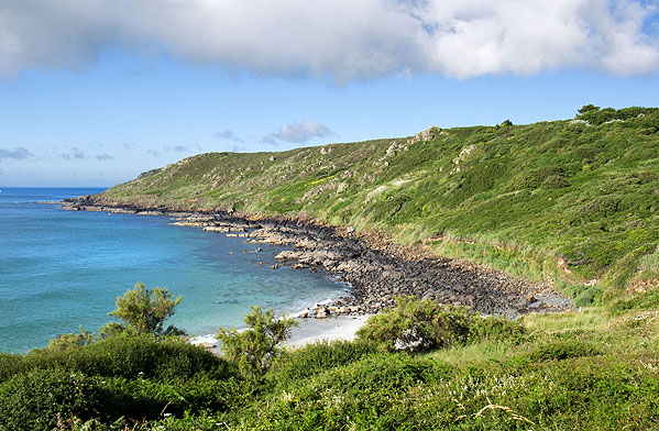Porthbeer Cove