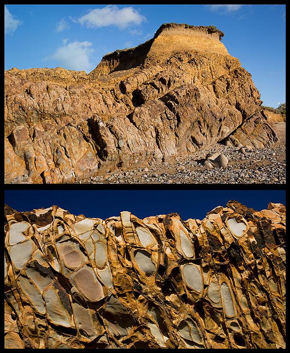 Slumped Beds - Widemouth Bay