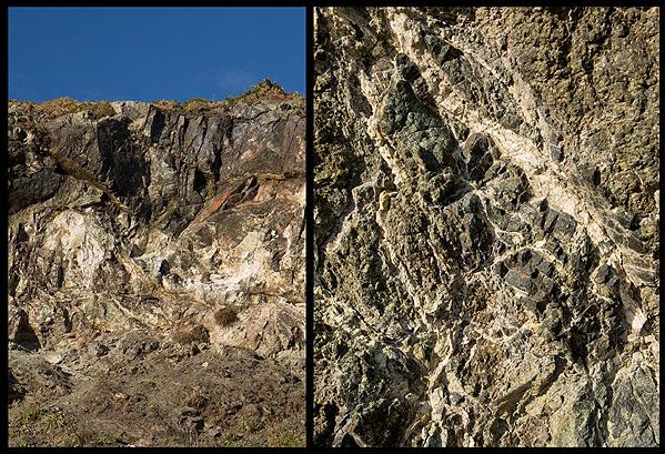 Veins of Talc / Balk Quarry -  (S18)