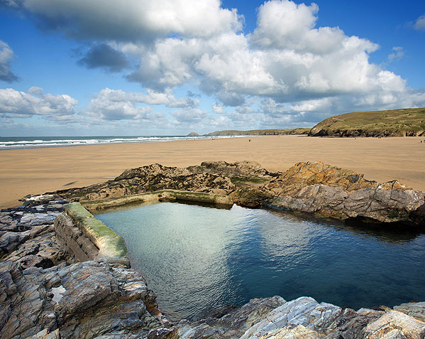 Perranporth Tidal Swimming Pool