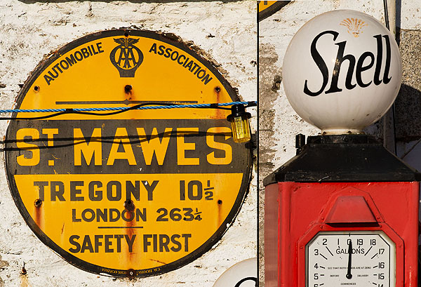 AA Village Sign - St Mawes