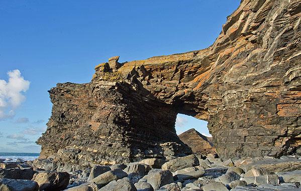 Natural Arch - Northern Door