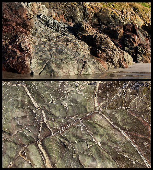 Dunite Veins - Lankidden Cove - (S18)