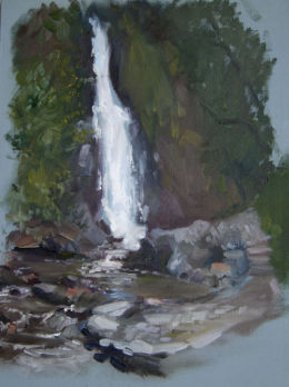 Devon Waterfall