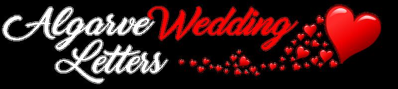 algarve wedding letters
