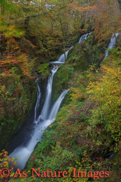 STOCKGHYLL WATERFALL,LAKE DISTRICT
