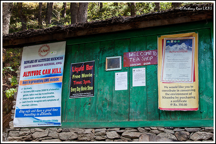 NOTICES AT NAMCHE