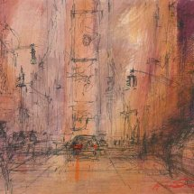 Times Square - Sketch