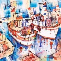 Greek fishing boats - Samos
