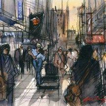 The Violinist - Northumberland Street