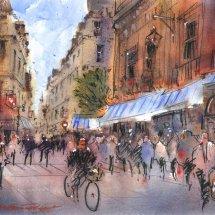 Parisian Street No. 2