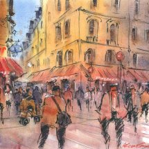Parisian Street No 3