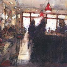 Parisian Cafe, Montmartre