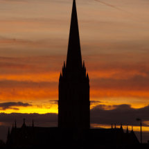 Cathedral silhouette