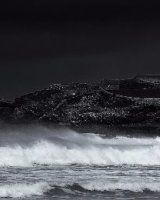 Godrevy Lighthouse B&W