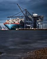MayView Maersk at Felixstowe