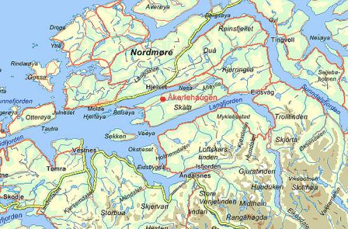 kart molde ÅKERLEHAUGEN: Kart kart molde