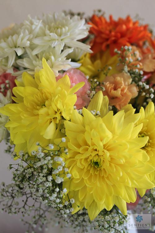 Chrysanthemum Carnation Bouquet