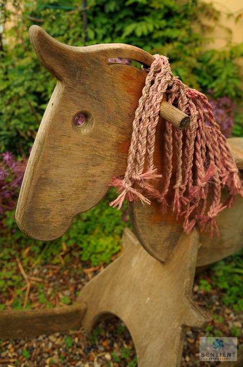 Rocking Horse, The Old Malt House Garden, Norfolk