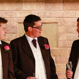 The Ushers Post Ceremony Discussion