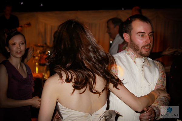 Bride & Groom Barn Dance