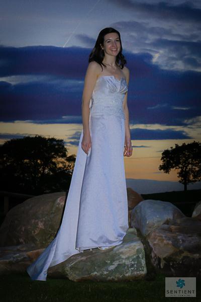 Bride at Twilight