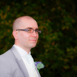 Groom Pre-Wedding Profile Portrait