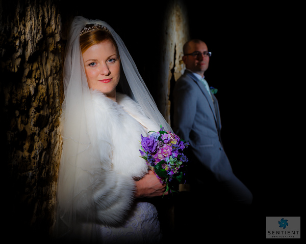 Bride & Groom Spotlight Portraits