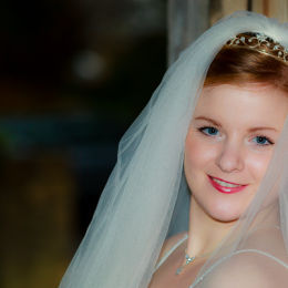 Bride Door Pre-wedding Portrait