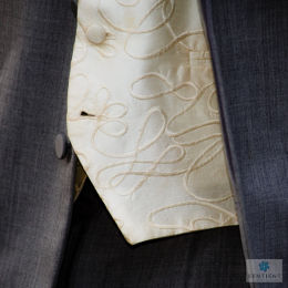 Wedding Suit & Waistcoat Detail