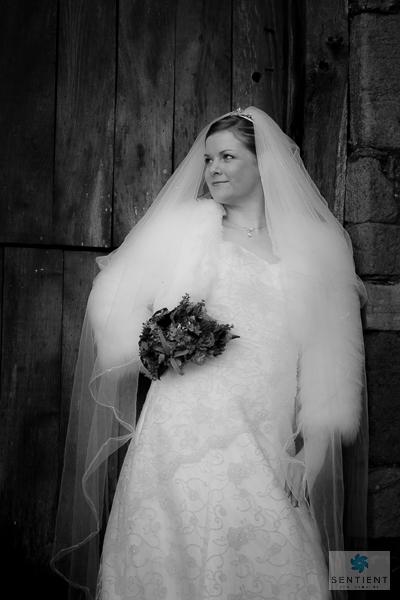 Bride - 3/4 View Mono