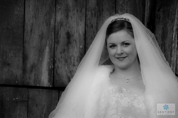 Bride Lacock barn Door Mono
