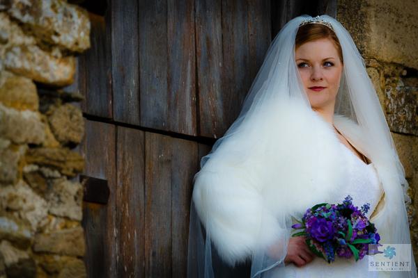 Bride Lacock Barn Door