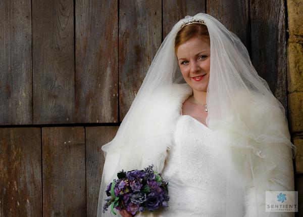 Bride - 3/4 View Barn Door