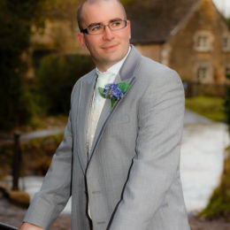 Groom at Lacock Ford